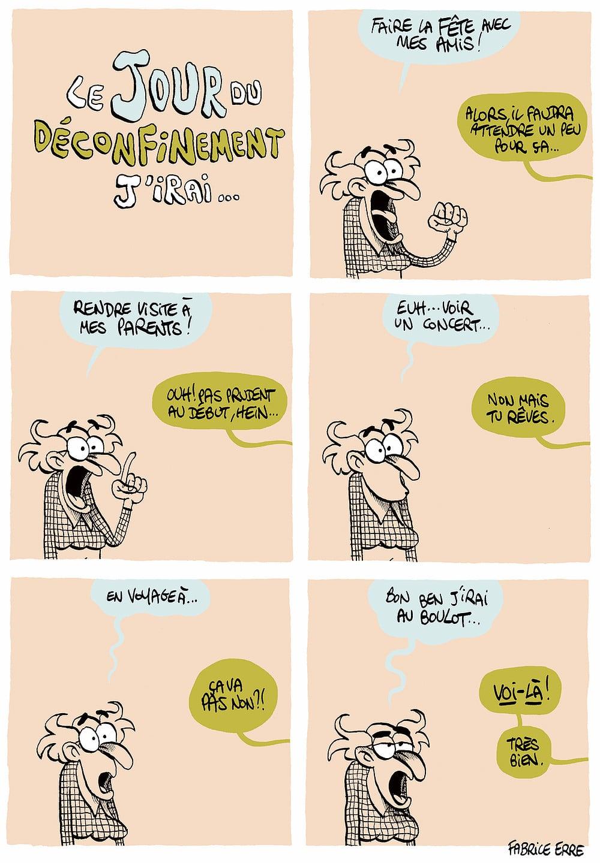 LE JOUR DU DECONFINEMENT